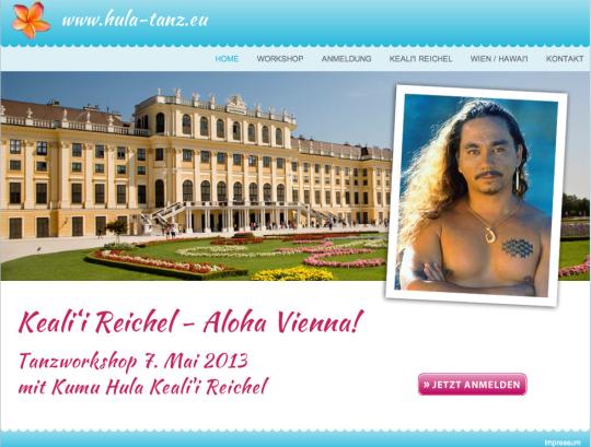 Keali'i Reichel Aloha Vienna !